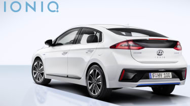 Hyundai Ioniq - official rear quarter