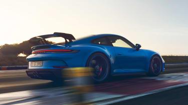 Porsche 911 GT3 - rear action