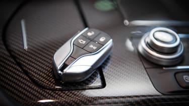 Maserati Quattroporte - key