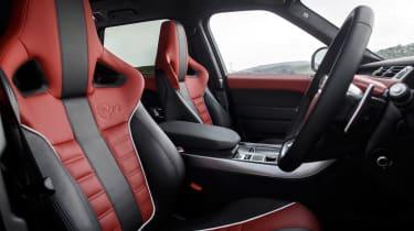 Range Rover Sport SVR - front seats