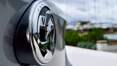 Vauxhall Corsa - Vauxhall badge