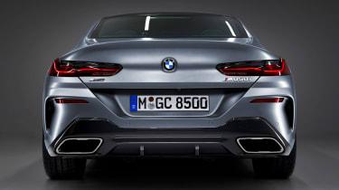 BMW 8 Series Gran Coupe - full rear studio