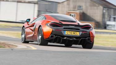McLaren 570GT long term second report - rear