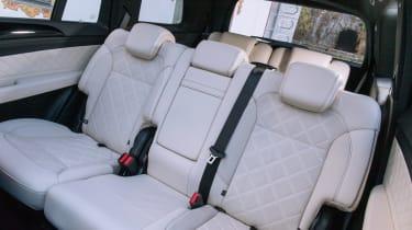 Mercedes GLS rear seats