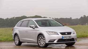 SEAT Leon ST estate 2014 static