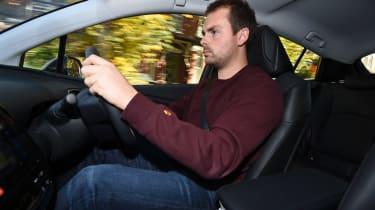 Toyota Prius long-termer - Otis driving