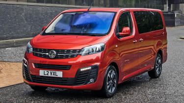 Vauxhall Vivaro Life 2019 front