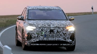 Audi Q4 e-tron - spyshot 2