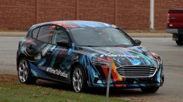 2018 Ford Focus Hatchback spy