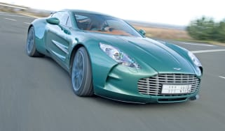Aston Martin One-77 front cornering
