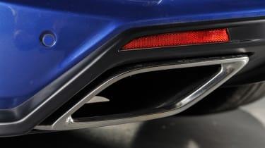 Vauxhall VXR8 GTS-R - exhaust