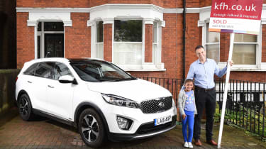 Kia Sorento long-termer - fourth report header