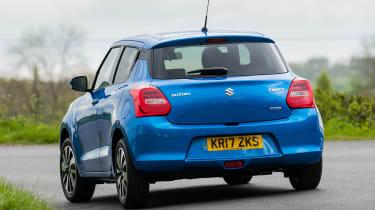 Suzuki Swift Allgrip - rear