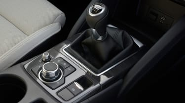 You can change gear using this device in the Mazda CX-5.