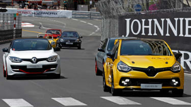 Renault Clio RenaultSport R.S.16 official - Monaco tracking 2