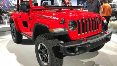 2018 Jeep Wrangler new - front corner