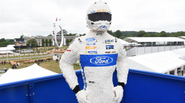 Ford Goodwood stand - lego