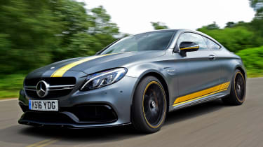 Mercedes-AMG C63 S Coupe - front