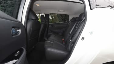 Nissan Leaf - rear seats