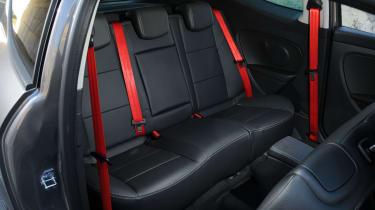 Renaultsport Megane 265 rear seats