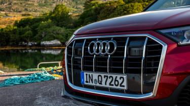 Audi Q7 55 TFSI - grille