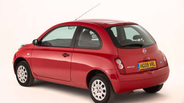Used Nissan Micra - rear