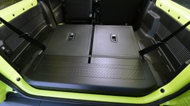Suzuki Jimny -seats folded down