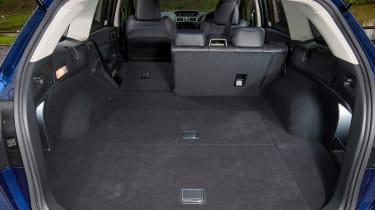 Subaru Levorg - boot seat down