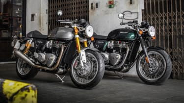 Triumph Thruxton R review - twin photo