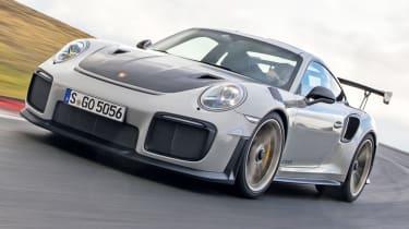 Porsche GT2 RS front quarter
