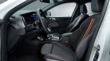 New BMW 1 Series 2019 front seats