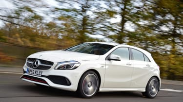Mercedes A 250 AMG action