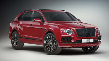 Bentley Bentayga V8 Design Series - red