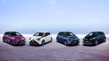 Fresh Toyota Aygo - range