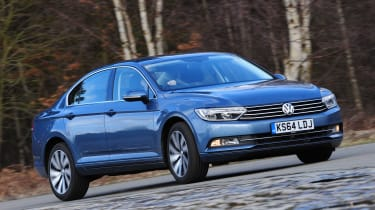 The Passat's party piece is its ability to combine an agile streak with superb refinement. The car turns in with precision, holding a line with plenty of grip to lean on thanks to the optional XDS differential lock. On a motorway cruis