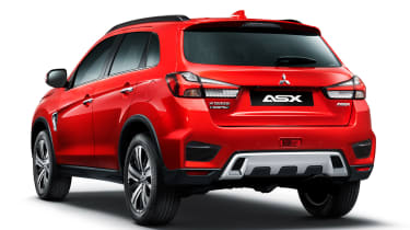 Mitsubishi ASX - rear