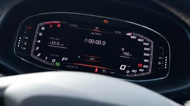 SEAT Leon Cupra R ST ABT - dials