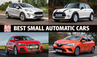Best small automatic cars 2021 - header