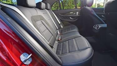 Mercedes-AMG E 63 S - rear seats