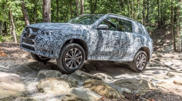 Mercedes GLE prototype - off-road