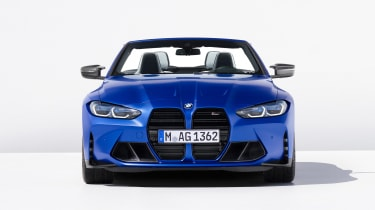 BMW M4 Competition Convertible - full front