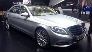 Mercedes-Benz S600 - Detroit Motor Show 2014