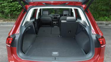 Mazda CX-5 vs Skoda Kodiaq vs VW Tiguan - Volkswagen Tiguan boot