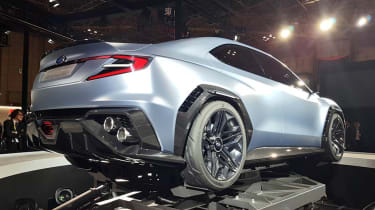 Subaru VIZIV Performance Concept - rear