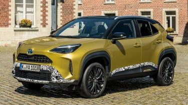 Toyota Yaris Cross prototype - front static