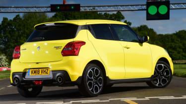 Suzuki Swift Sport rear quarter
