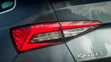 Skoda Kodiaq - rear light detail