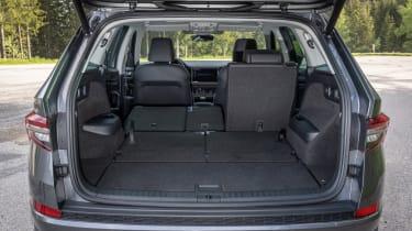 2021 facelifted Skoda Kodiaq SUV - boot