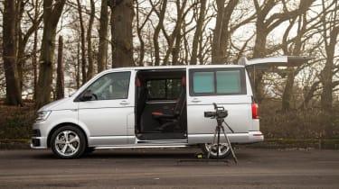 Long-term test review: Volkswagen Transporter Sportline - side camera