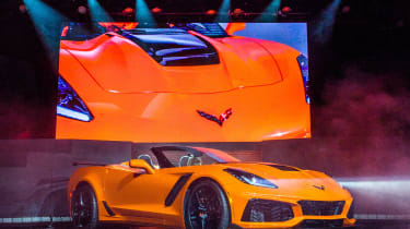 Corvette ZR1 Convertible - front